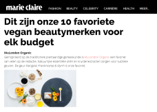 MuLondon Featured in Dutch Edition of Marie Claire - Editors' Favourite!